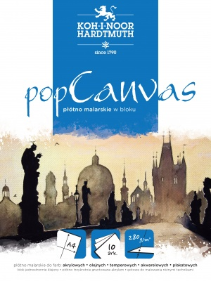 Płótno malarskie w bloku POP CANVAS