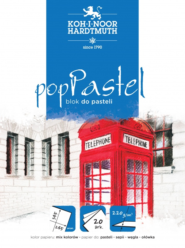 BLOK DO PASTELI POP PASTEL BLO-PA